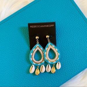 Rebecca Minkoff Louisa Shell Chandelier Earrings